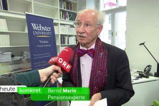 Frühpensionen-Bernd-Marin-in-Heute-Konkret-ORF