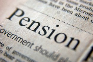 royalty-free-photograph-of-pension-business-headline-in-uk-financial-a2cwrn