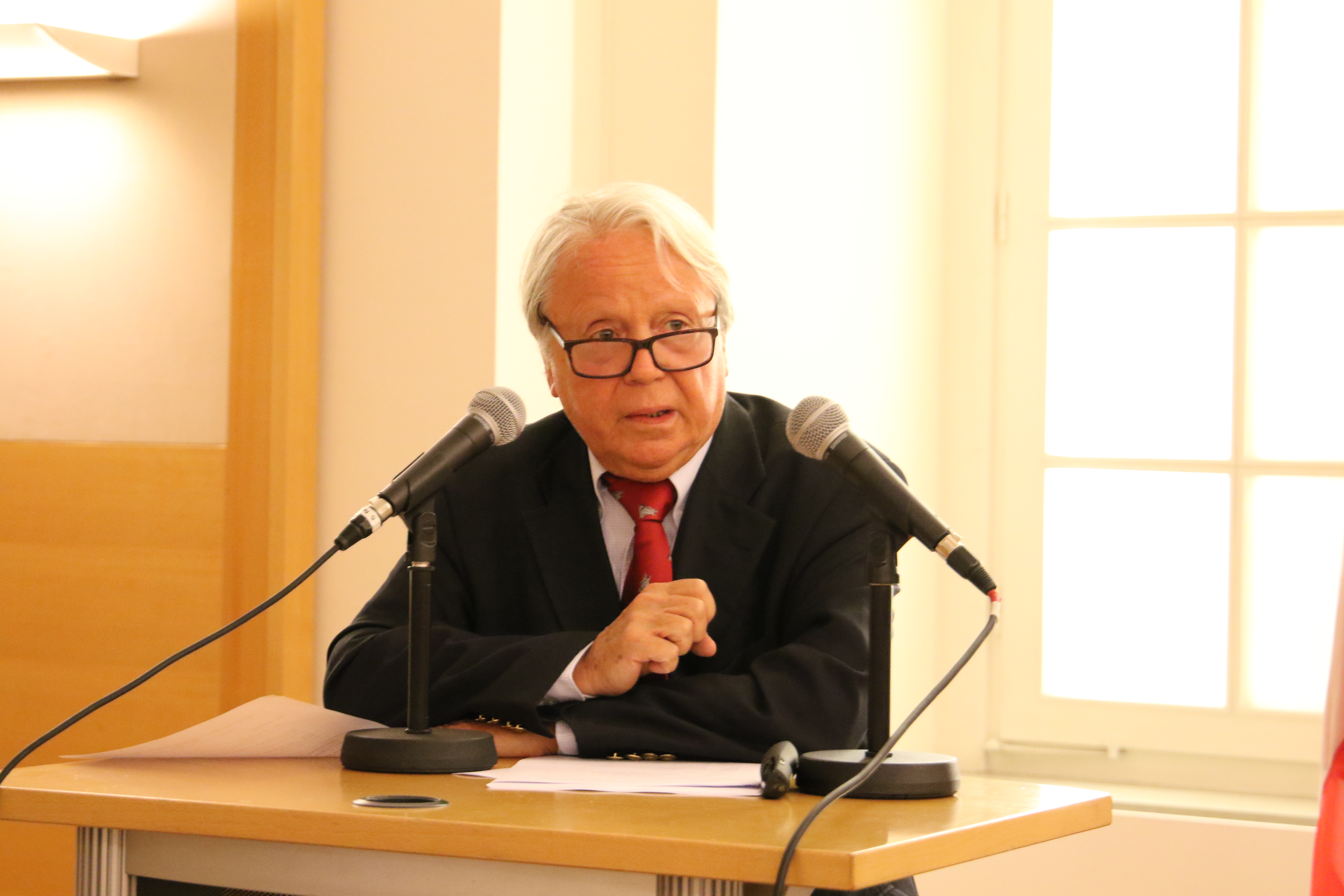 Hans Winkler, Director of the Diplomatic Academy of Vienna