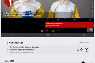 Screenshot Radio OE1
